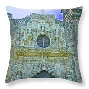 Mission San Jose San Antonio Throw Pillow
