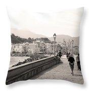 Molto Romantico Throw Pillow