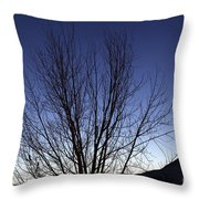 Moon And Venus Conjunction Throw Pillow