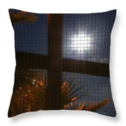 Moon Rising Two Throw Pillow