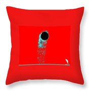Moonclipse Throw Pillow