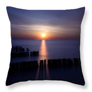 Moonrise Throw Pillow by Cale Best