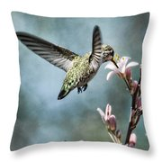 Morning Surprises Throw Pillow