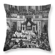Morrison R. Waite (1816-1888) Throw Pillow by Granger