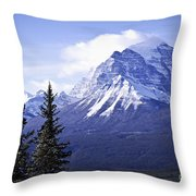 Mountain Landscape Throw Pillow by Elena Elisseeva