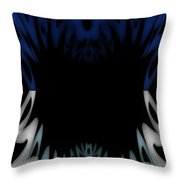 Mouth Of The Beast. Throw Pillow