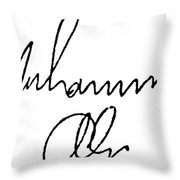 Muhammed Ali (b. 1942) Throw Pillow