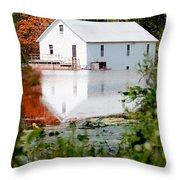 Murrays Mill Catawba North Carolina Throw Pillow