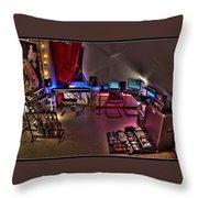 Music Studio Throw Pillow