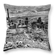 Nagasaki, 1945 Throw Pillow