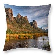 National Park Throw Pillow