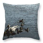 Natural Life Throw Pillow