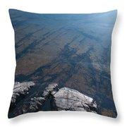 Nature Patterns Throw Pillow