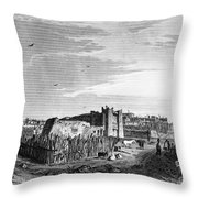 New Mexico: Zuni Pueblo Throw Pillow