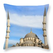 New Mosque In Istanbul Throw Pillow