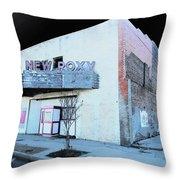 New Roxy Clarksdale Ms Throw Pillow