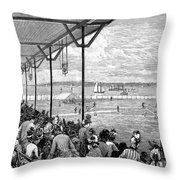 New York: Baseball, 1886 Throw Pillow