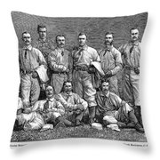 New York Baseball Team Throw Pillow