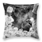 New York: Bread Line, 1915 Throw Pillow