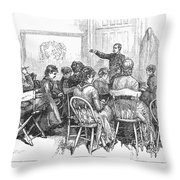 New York: Medical College Throw Pillow