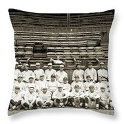 New York Yankees, C1921 Throw Pillow