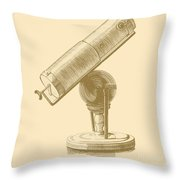 Newtons Little Reflector Throw Pillow