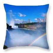 Niagara Waterfalls Throw Pillow