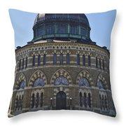 Nott Memorial Building At Union College Throw Pillow