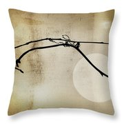 November Bones Throw Pillow
