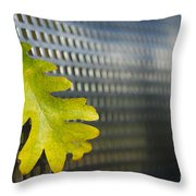 Oak Leaf Throw Pillow