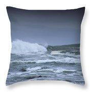 Ocean Surf Throw Pillow