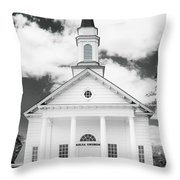 Old Koloa Church Throw Pillow