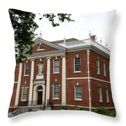 Old Town Philadelphia Throw Pillow