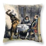 Opechancanough Throw Pillow
