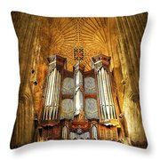 Organ Throw Pillow