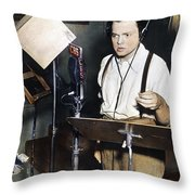 Orson Welles (1915-1985) Throw Pillow
