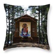 Our Lady Of Czestochowa Throw Pillow