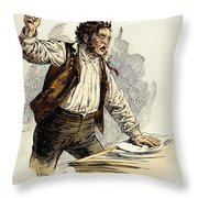 Owen Lovejoy (1811-1864) Throw Pillow by Granger