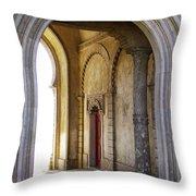 Palace Arch Throw Pillow