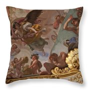 Palace Ceiling Detail Throw Pillow