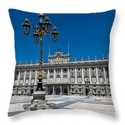 Palacio Real Throw Pillow