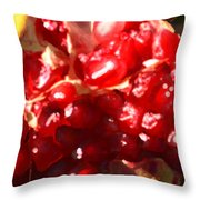 Palmagranite Off The Tree Throw Pillow