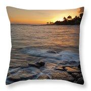 Paradise Sunset Throw Pillow