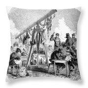 Paris Commune, 1871 Throw Pillow