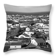 Parish In The Azores Throw Pillow
