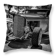 Parked Classic Throw Pillow