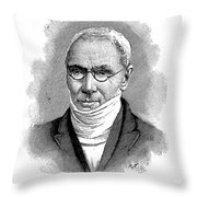 Patrick Bront� (1777-1861) Throw Pillow