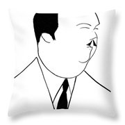 Paul Whiteman (1890-1967) Throw Pillow