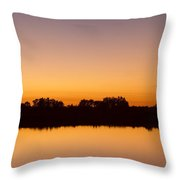 Peaceful And Calm Throw Pillow