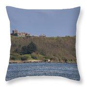 Pendennis Castle  Throw Pillow